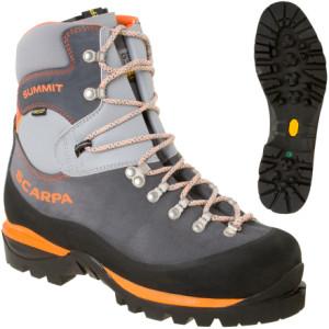 photo: Scarpa Summit GTX mountaineering boot