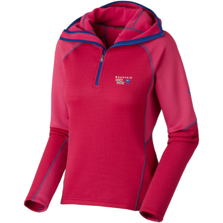 photo: Mountain Hardwear Solidus Hoody fleece top