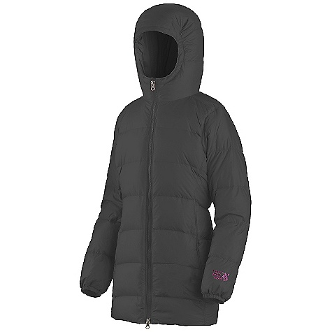 photo: Mountain Hardwear Girls' Downtown Coat down insulated jacket
