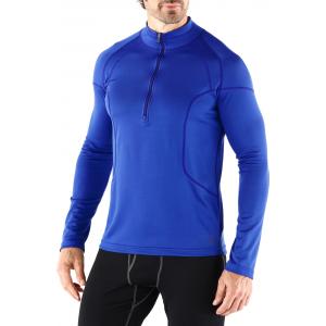 REI Midweight Polartec Power Dry Long Underwear Half-Zip Top