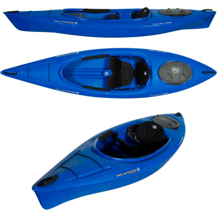 photo: Wilderness Systems Pamlico 100 recreational kayak