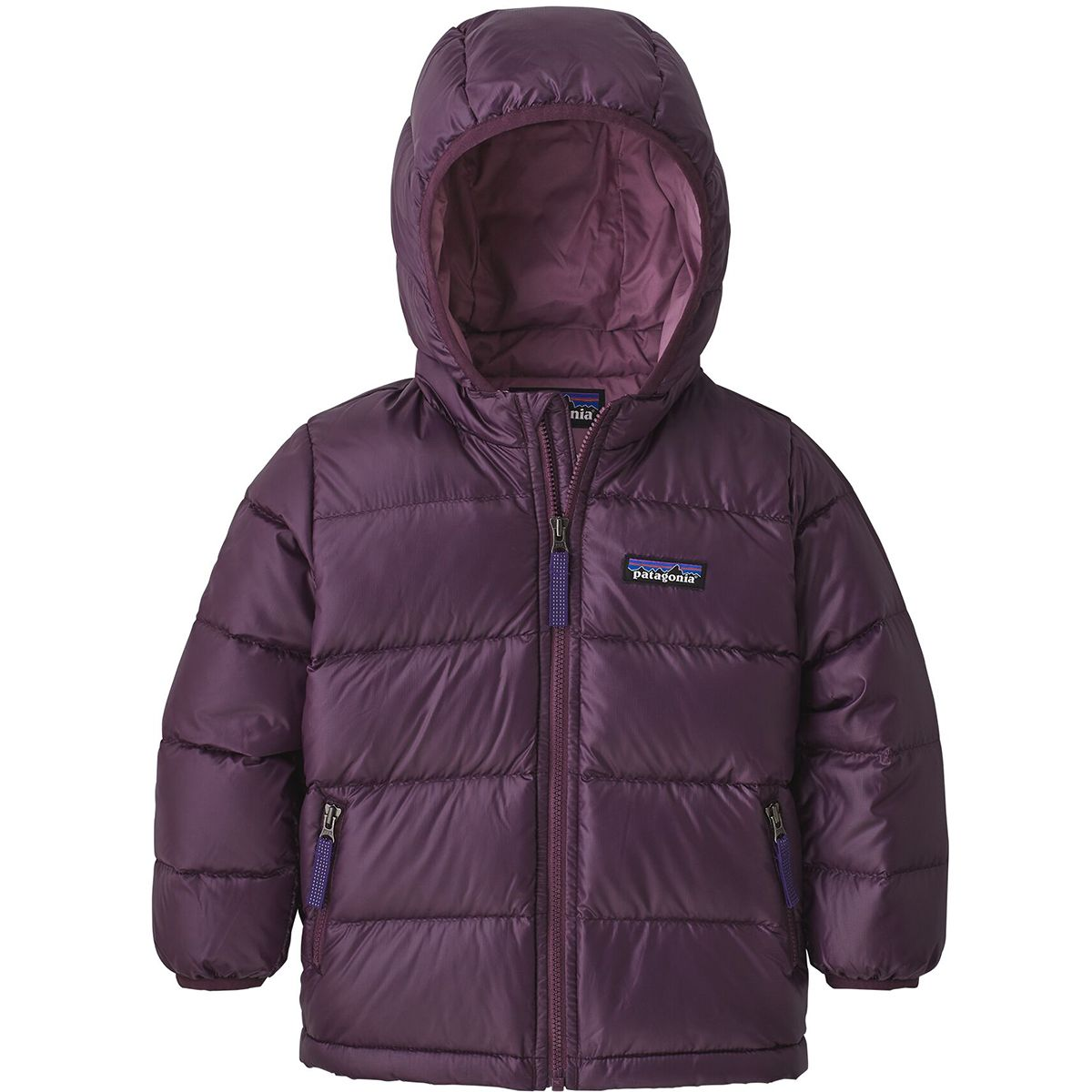 photo: Patagonia Kids' Hi-Loft Down Sweater Hoody down insulated jacket