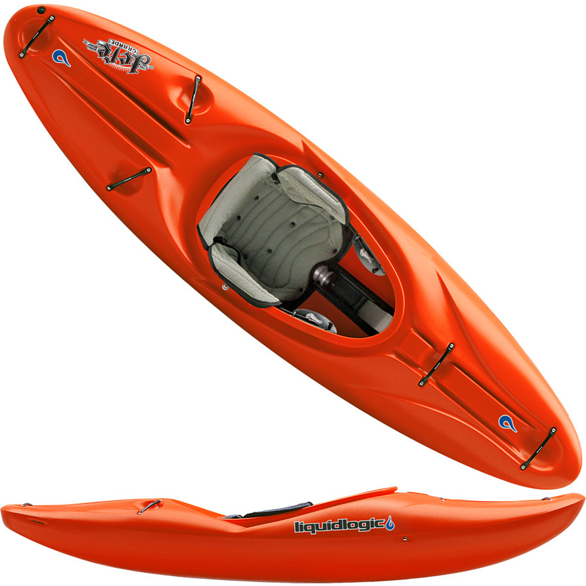 Liquidlogic Remix kayak design - YouTube