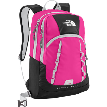 photo: The North Face Base Camp Double Shot daypack (under 2,000 cu in)