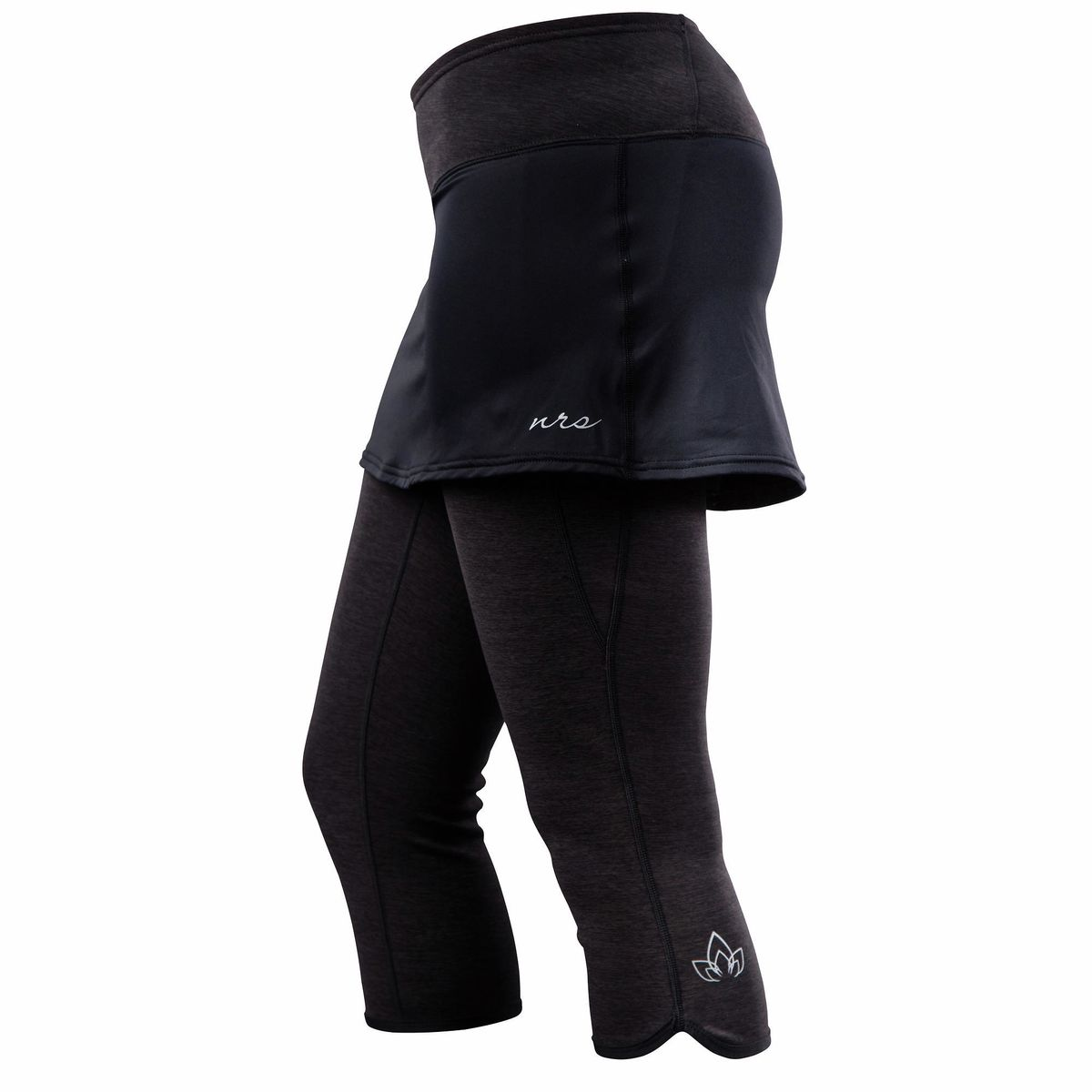 photo: NRS HydroSkin 0.5 Capri Pant with Skirt paddling pant