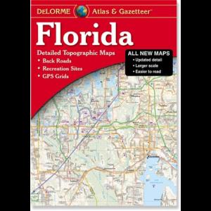 DeLorme Florida Atlas and Gazatteer