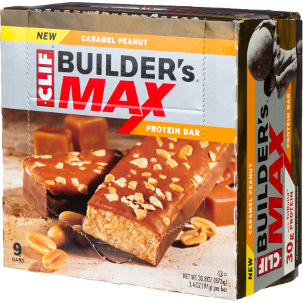 photo: Clif Builder's MAX bar