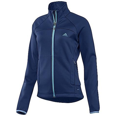 photo: Adidas Women's Hiking 1 Side Fleece Jacket fleece jacket
