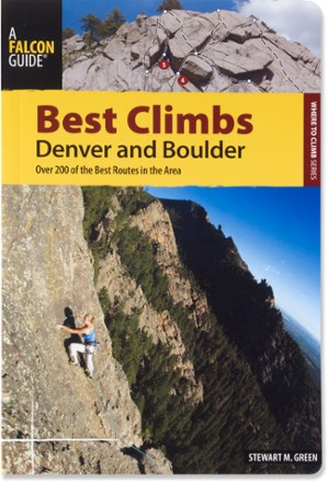 photo: Falcon Guides Best Climbs: Denver and Boulder us mountain states guidebook