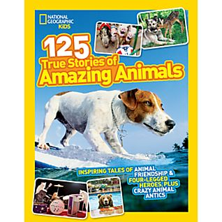 photo: National Geographic Kids 125 True Stories of Amazing Animals plant/animal identification guide
