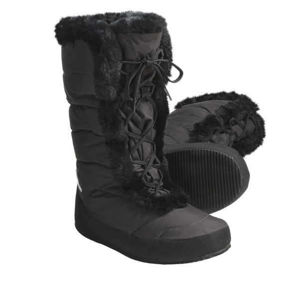 photo: Sierra Designs Women's Fireside Down Booties bootie