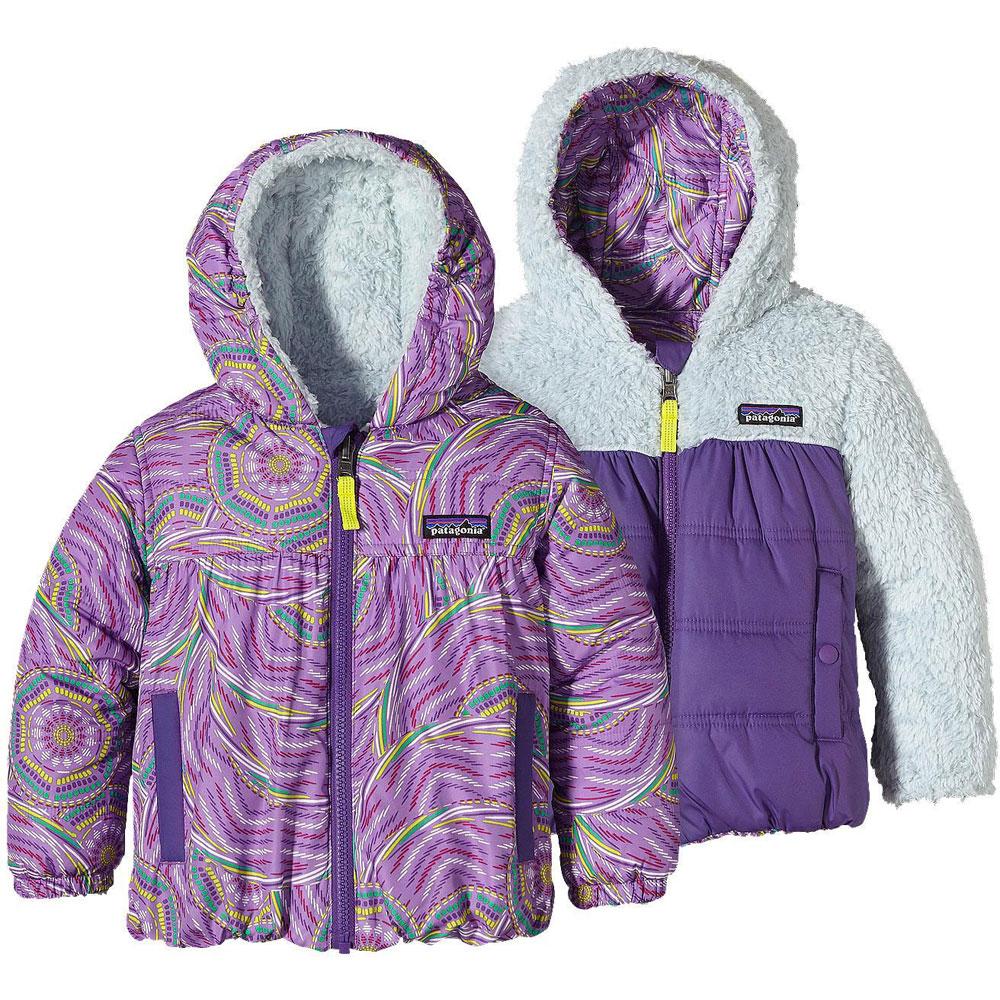 photo: Patagonia Baby Reversible Honey Puff Hoody fleece jacket