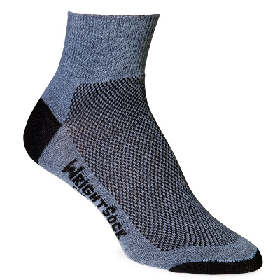photo: WrightSock CoolMesh Lo Quarter Sock running sock