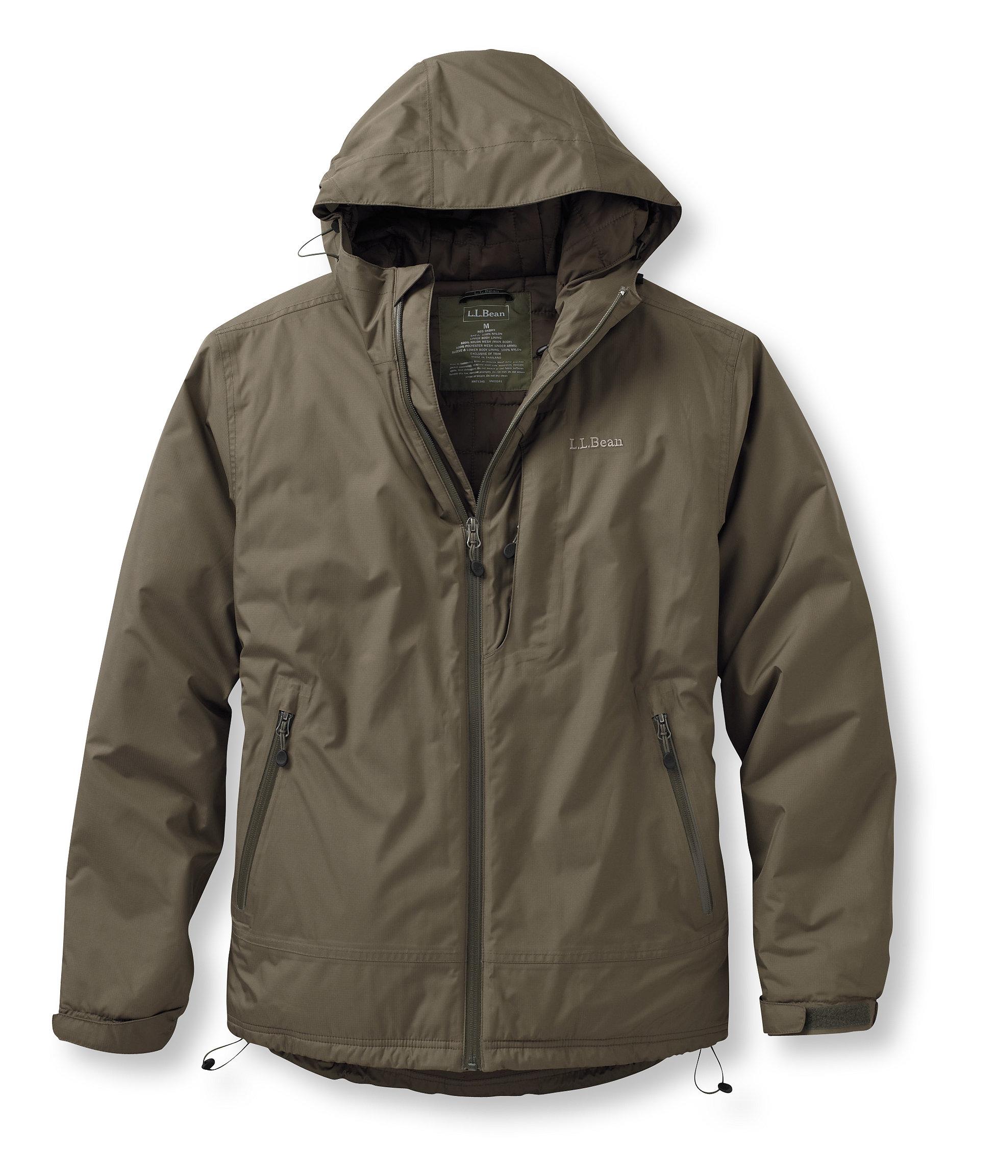 L.L.Bean Insulated Rain Jacket