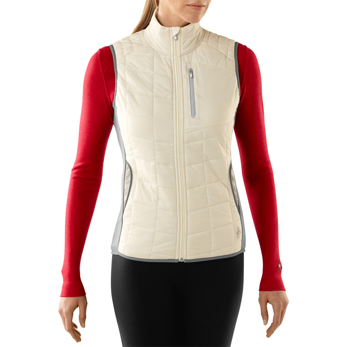 photo: Smartwool Women's PhD SmartLoft Divide Vest synthetic insulated vest