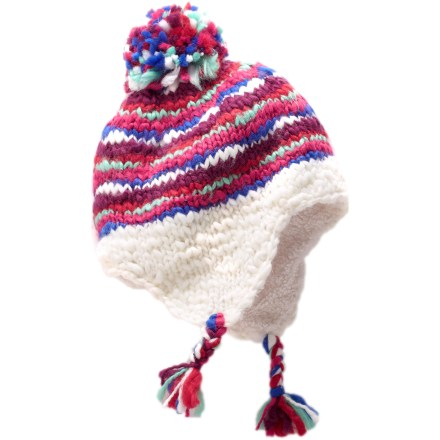 REI Chunky Striped Peruvian Hat