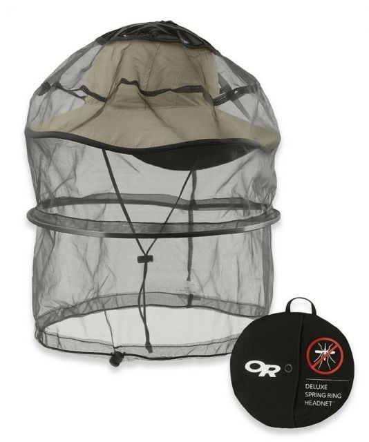 photo: Outdoor Research Deluxe Spring Ring Headnet bug net