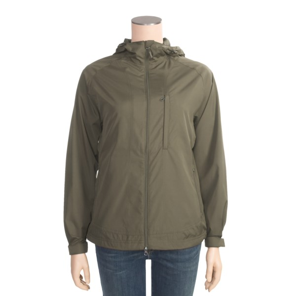 photo: Royal Robbins Women's Windjammer Full Zip wind shirt