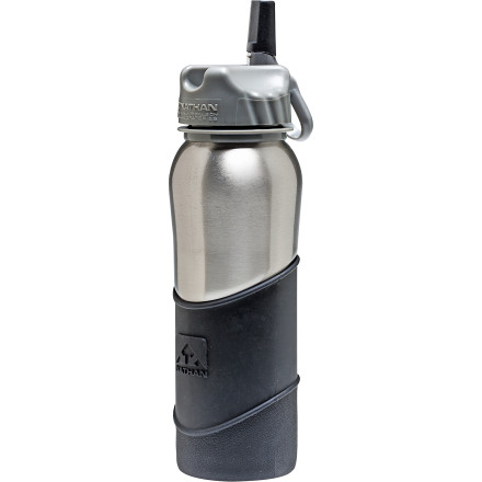 photo: Nathan Stainless Steel 700 ML Bottle Silicon Sleeve water bottle