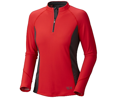 photo: Mountain Hardwear Aliso Long-Sleeve Zip T long sleeve performance top