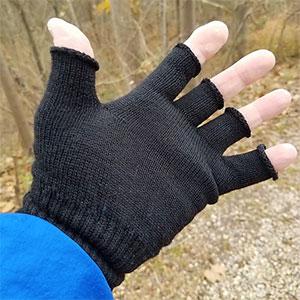 Icebreaker Fingerless Merino Wool Gloves