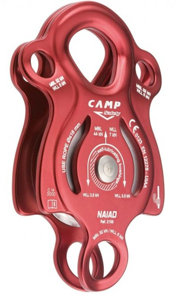 photo: CAMP Naiad pulley