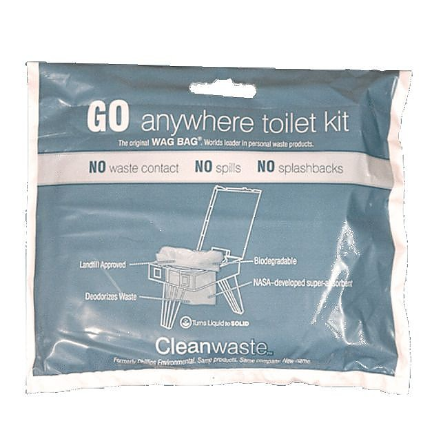 photo: Cleanwaste Go Anywhere Toilet Kit Wag Bag waste bag