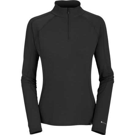 photo: The North Face Men's Light Zip Neck base layer top