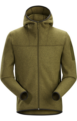 photo: Arc'teryx Men's Covert Hoody fleece jacket