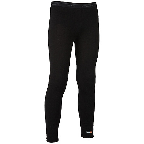 photo: Icebreaker Boys' Kids Legging base layer bottom