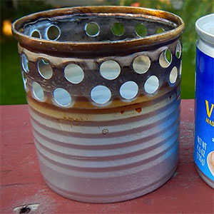 DIY: Homemade Alcohol Stove
