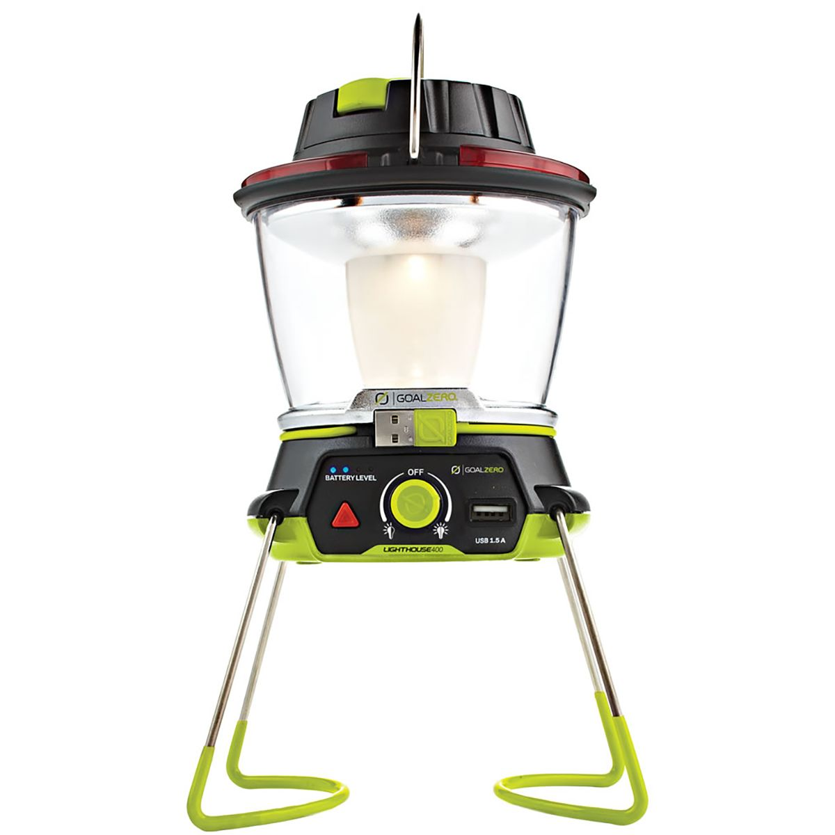 photo: Goal Zero Lighthouse 400 Lantern battery-powered lantern