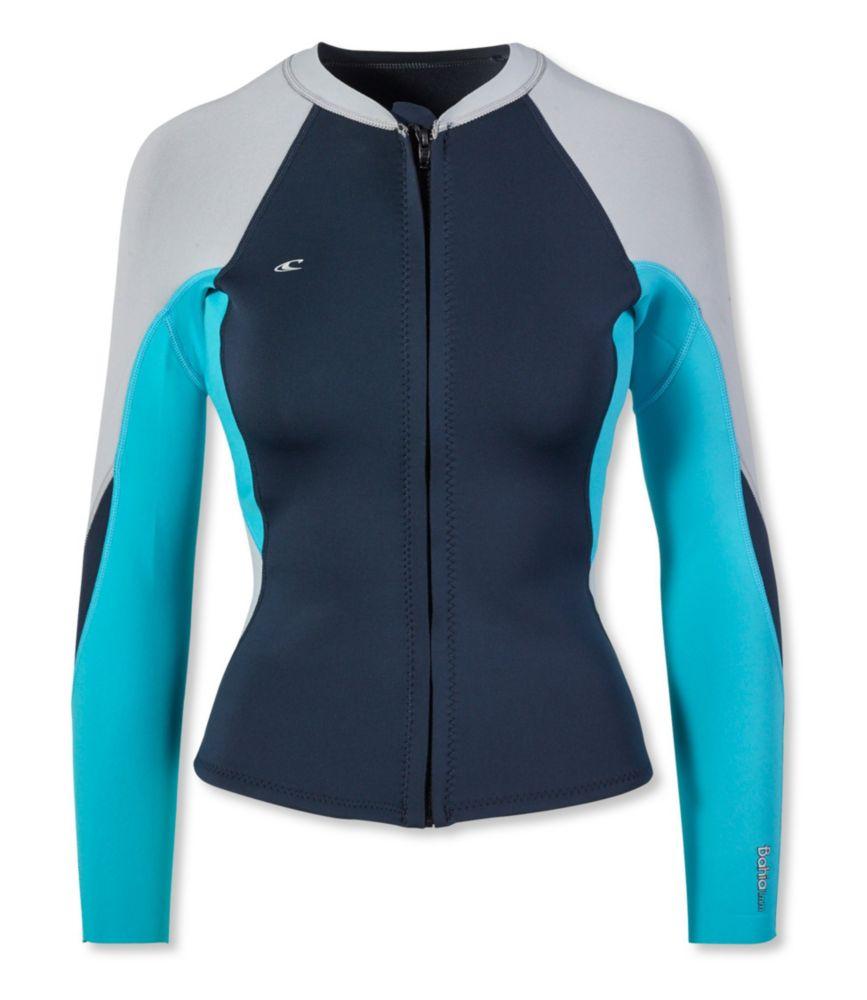 photo: O'Neill Bahia Full Zip Jacket wet suit