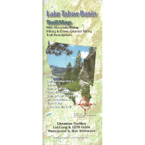 photo: Adventure Maps Lake Tahoe Basin Adventure Map us pacific states paper map