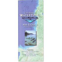 Adventure Maps Lake Tahoe Water Trail Map & Guide