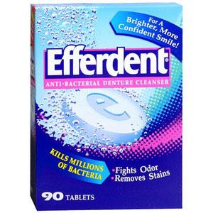 Efferdent Cleanser