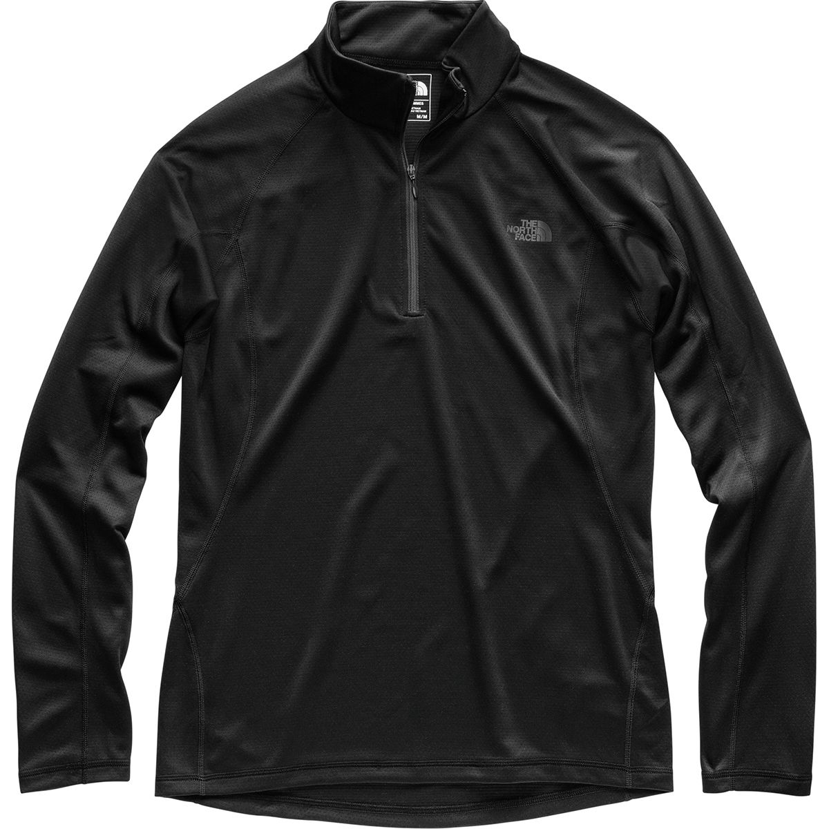photo: The North Face Warm Long-Sleeve Zip Neck base layer top