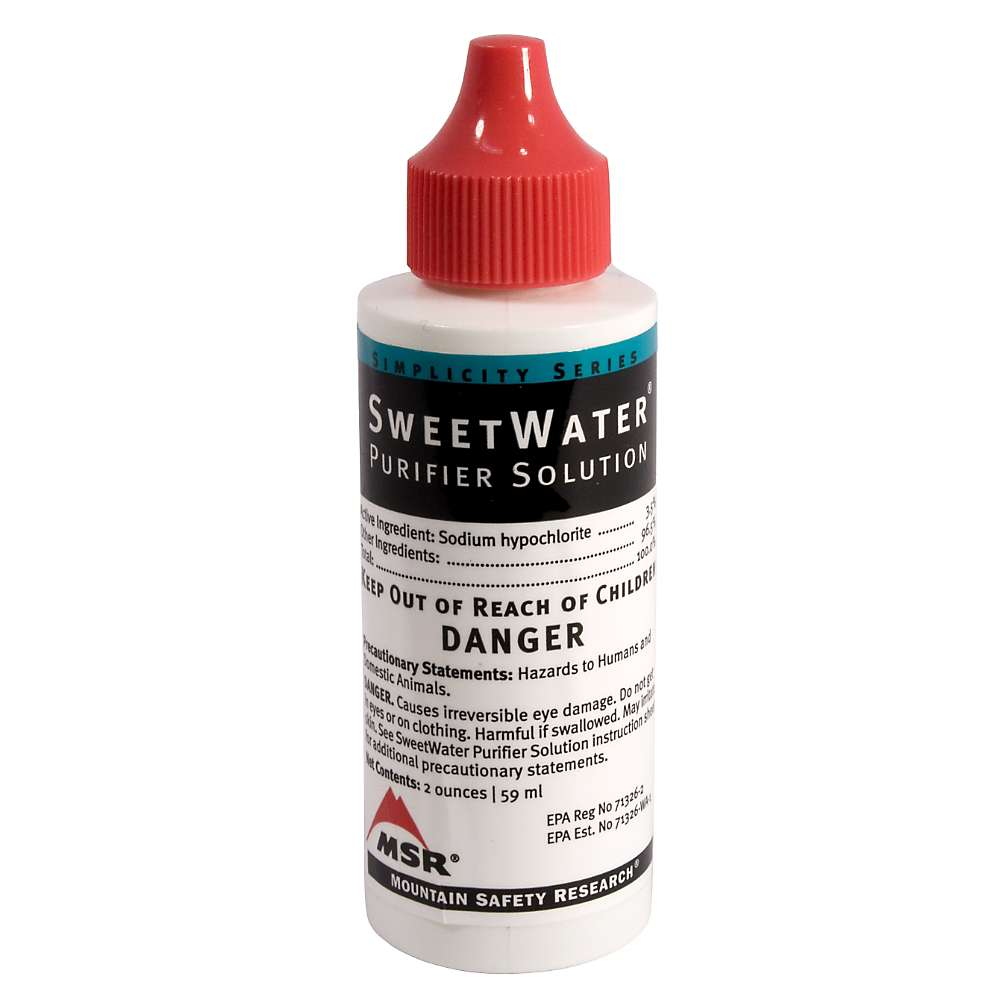 MSR SweetWater Purifier Solution