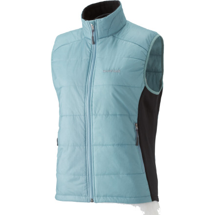 photo: MontBell Women's U.L. Thermawrap Vest synthetic insulated vest