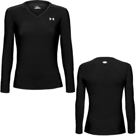 photo: Under Armour Women's HeatGear Longsleeve T long sleeve performance top