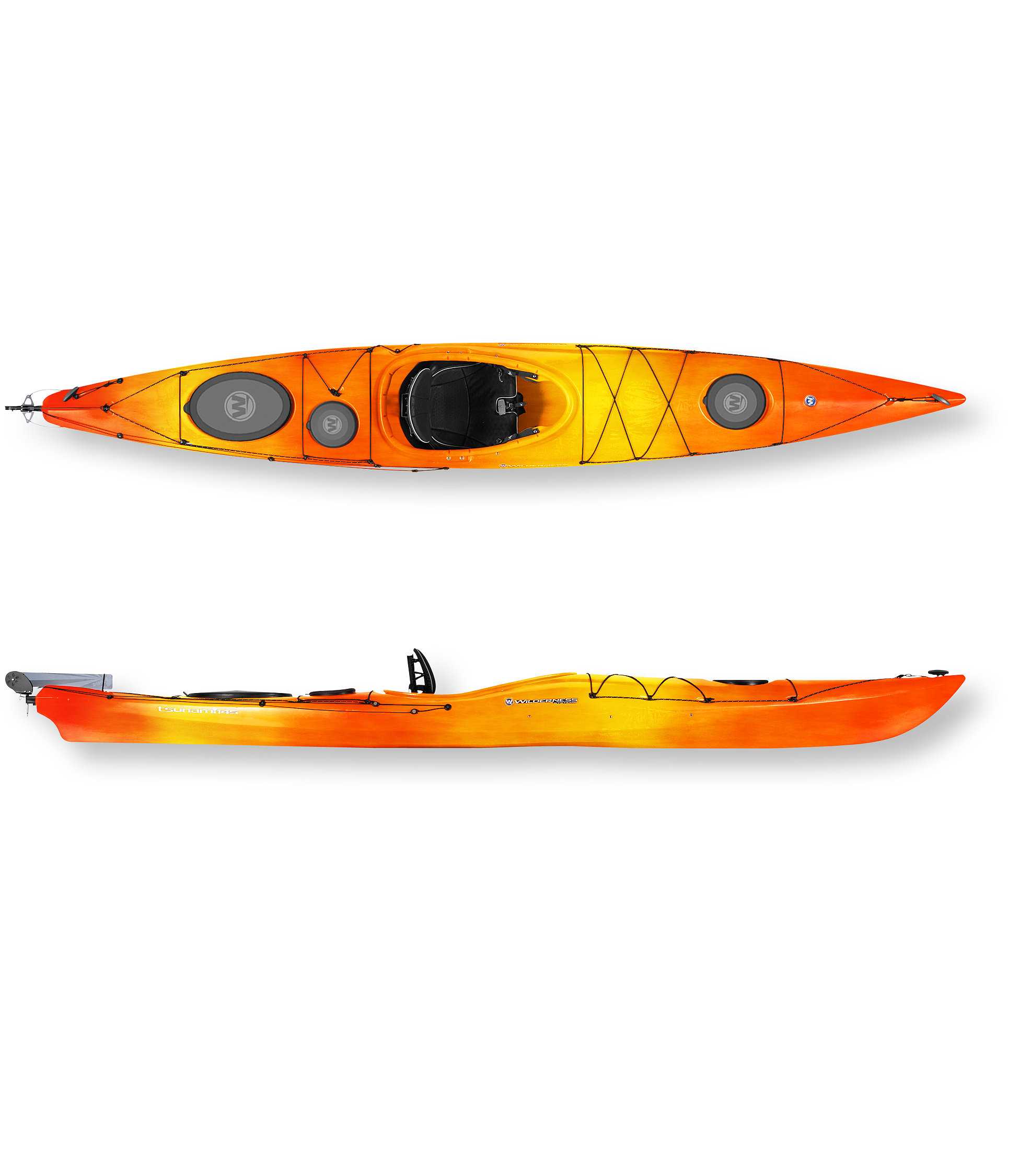 Wilderness Systems Tsunami 145 with Rudder