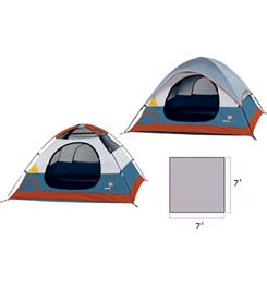 photo of a Swiss Gear tent/shelter