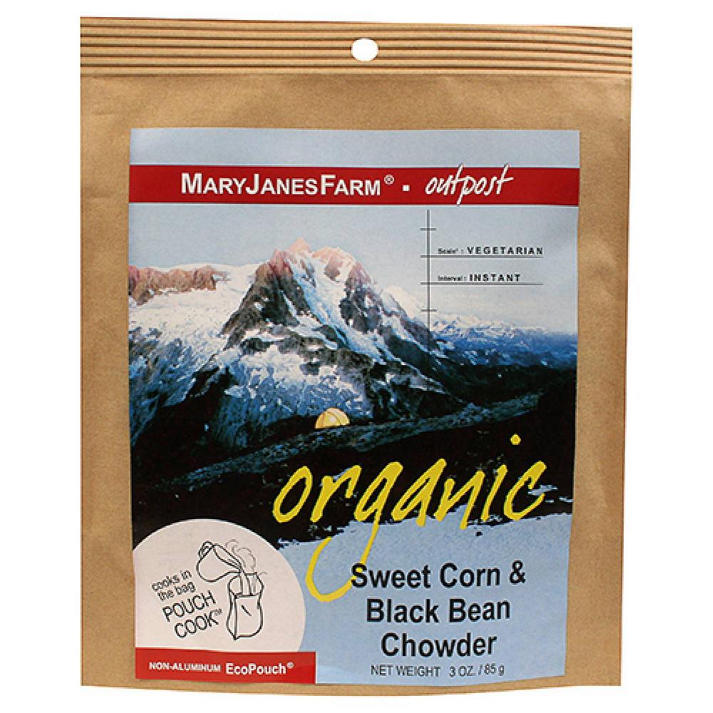 photo: Mary Janes Farm Organic Sweet Corn & Black Bean Chowder vegetarian entrée