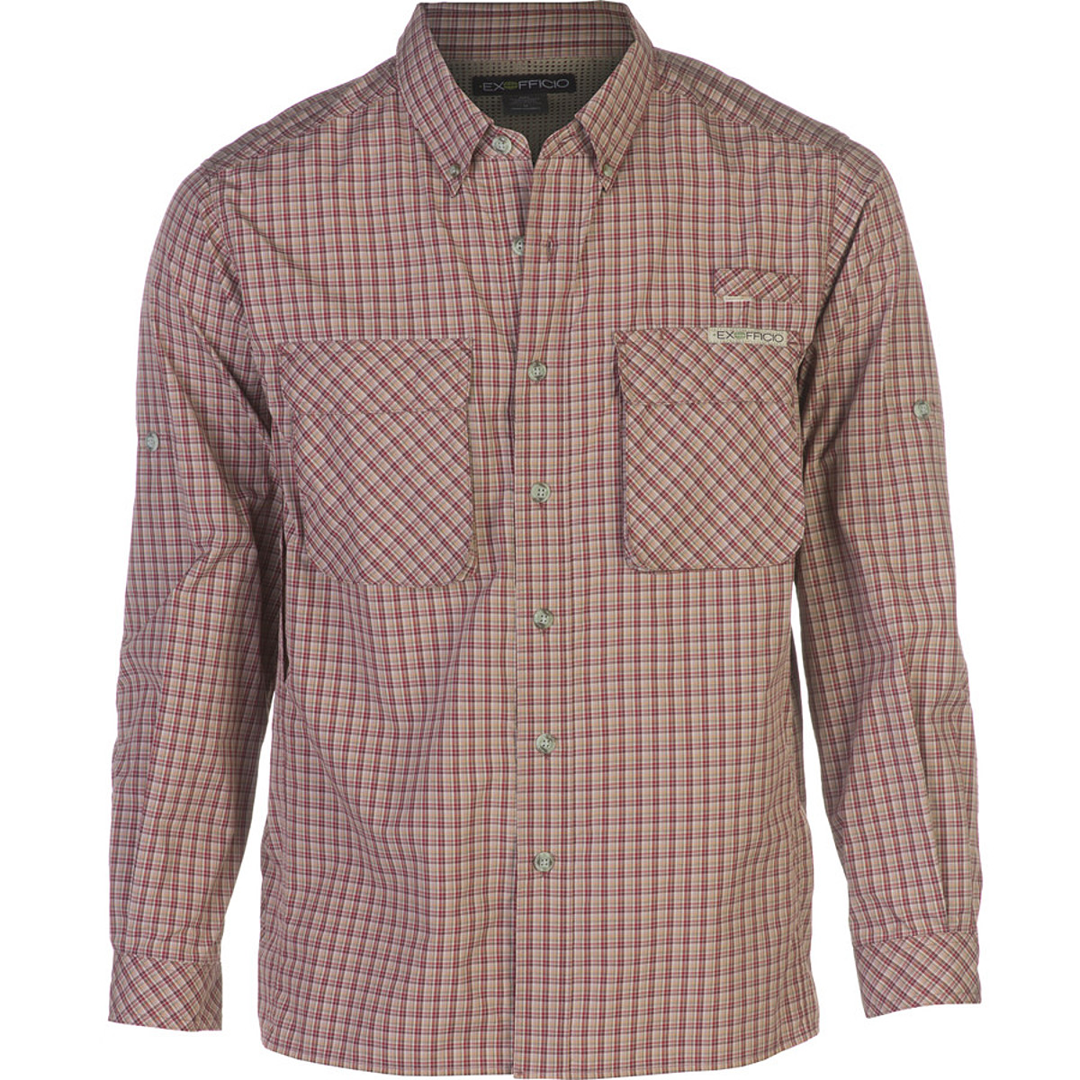 photo: ExOfficio Air Strip Lite Plaid Long-Sleeve Shirt hiking shirt