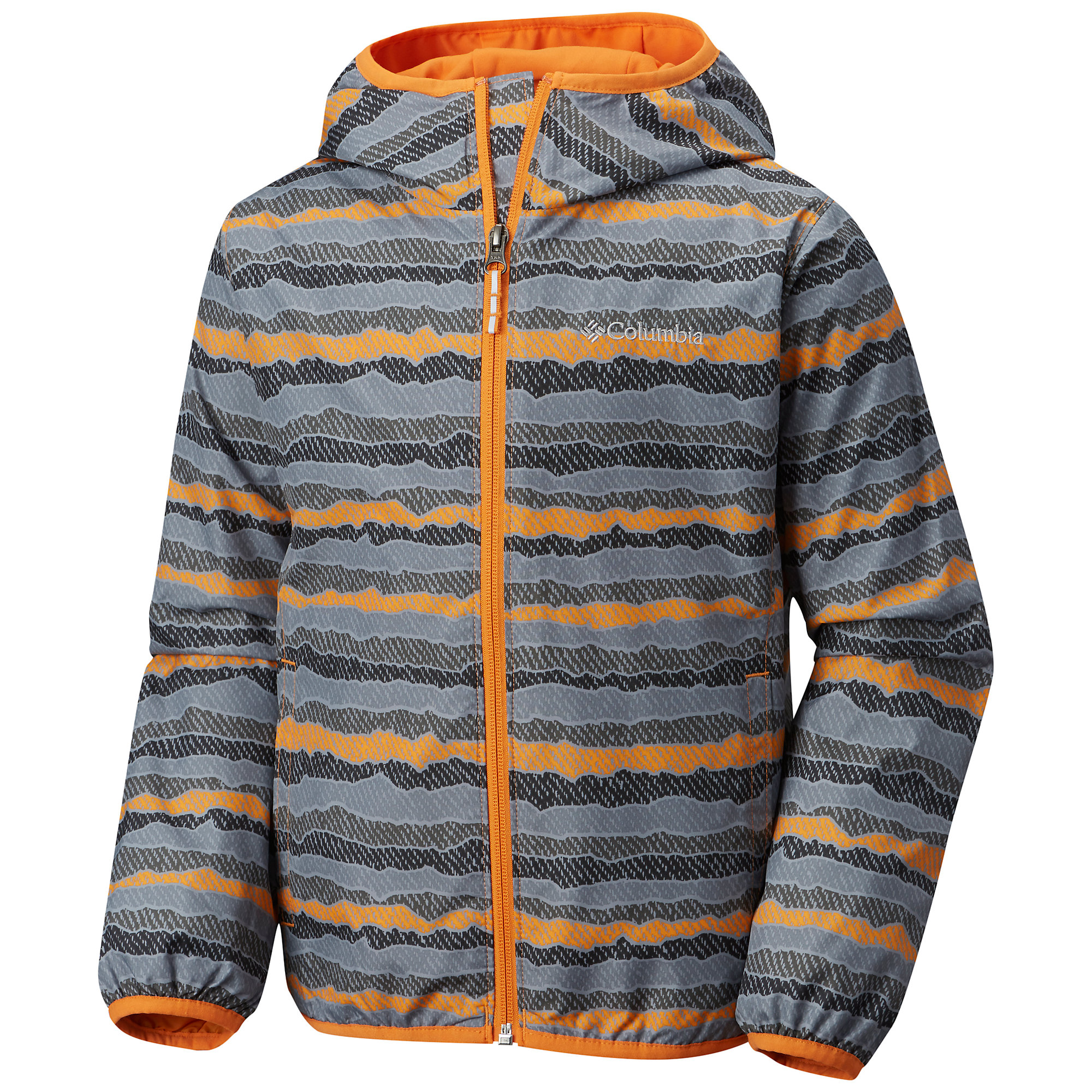 photo: Columbia Girls' Pixel Grabber II Wind Jacket wind shirt