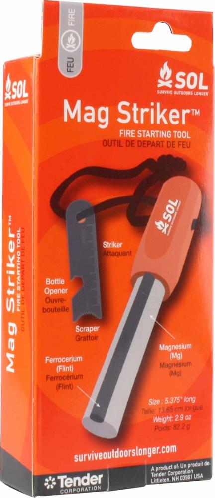 photo: SOL Mag Striker fire starter