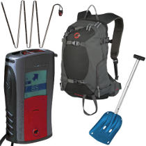 photo: Mammut Freeride Avalanche Package avalanche beacon