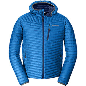 photo: Eddie Bauer First Ascent MicroTherm Down Hooded Jacket down insulated jacket
