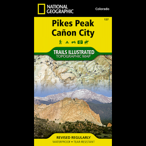 National Geographic Canyonlands National Park Map