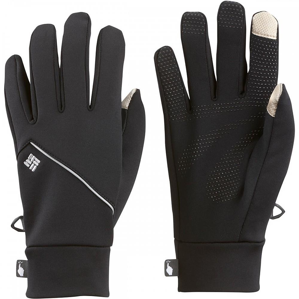 photo: Columbia Trail Summit Running Glove fleece glove/mitten